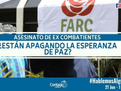Excombatientes FARC Contagio
