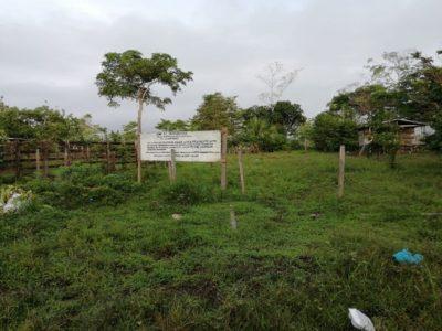 Cable en Zona de Biodiversidad La Esperanza Familia Polo