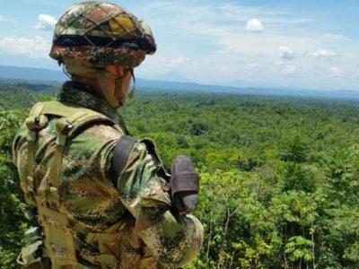 Ejército Nacional soldado