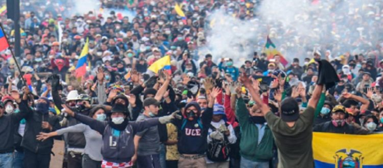 Ecuador detención