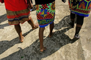 Indígenas embera Jigumiandó